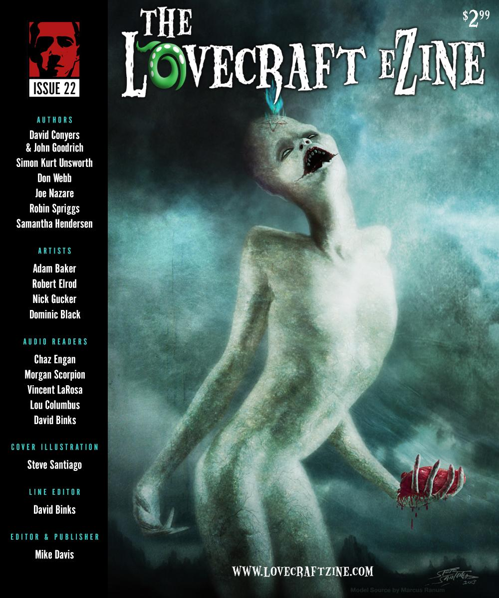 The Lovecraft e-zine issue 22, edited by Mike Davis